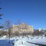 Archives du Québec en hiver