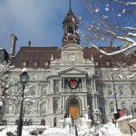 Hotel de Ville in winter!