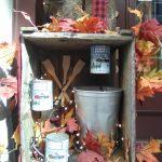 Sugar Shack display, it's maple syrup season!