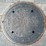NEW city sewer covers.  So according to the city, the qualities needed for a good sewer cover, it needs to be non slippery and heavy.  Has to be the same price as any other sewer covers!  Who new?