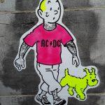 Tintin and Milou