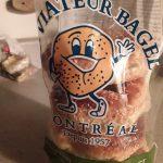 Fresh Montréal Bagels at St-Viateur.  Wood oven cooked since 1957