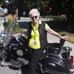 Kickass Marge, future TIKTOK star!!! My beautiful ant getting ready for a motorbike ride!!